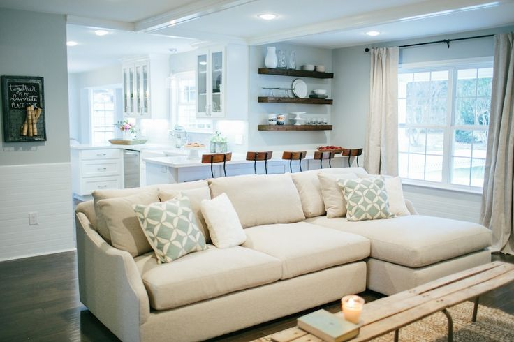 Love This Couch From Fixer Upper Dream Home Interior
