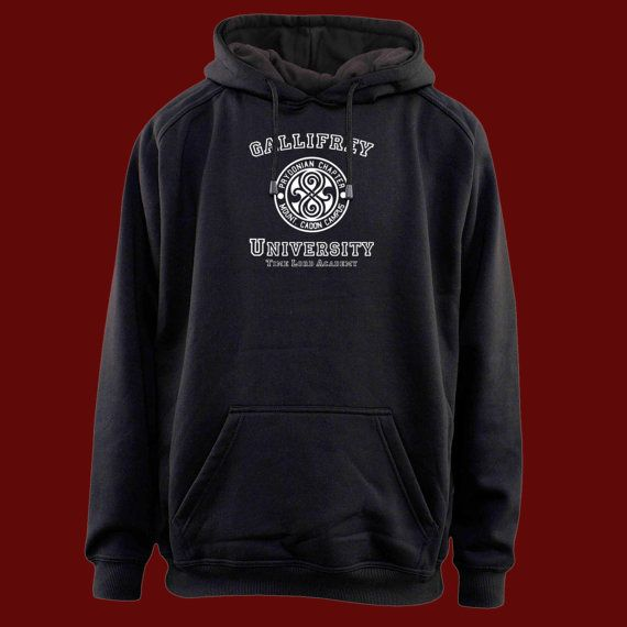 gallifrey university time lord academy for hoodie by Nickfrienship