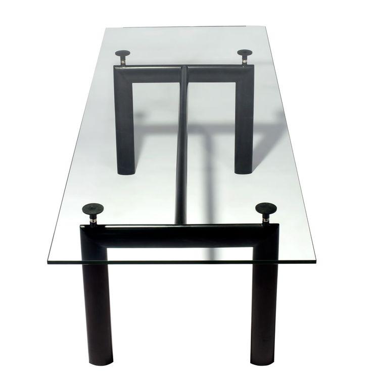 Replica Le Corbusier Dining Table LC6 by Le Corbusier - Matt Blatt