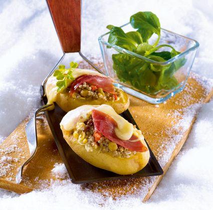 Pommes de terre farcies à la savoyarde