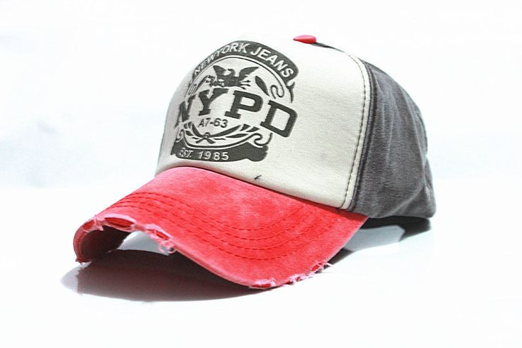 Ladies Casual NYPD Adjustable Baseball Cap 6 Colors