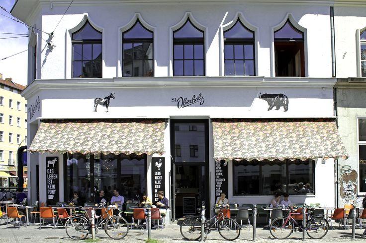 ST. OBERHOLZ coffee at ROSENTHALER PLATZ