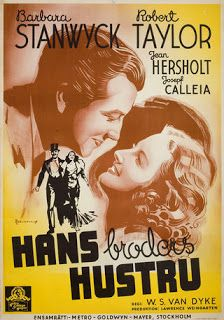 His Brother's Wife (1936) Barbara Stanwyck, Robert Taylor, Jean Hersholt