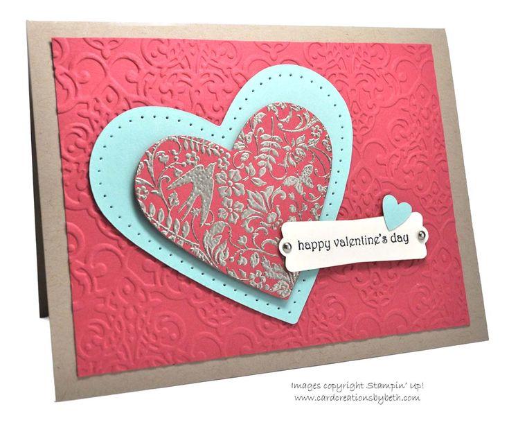1632 best Valentine Cards images on Pinterest | Stamping up ...