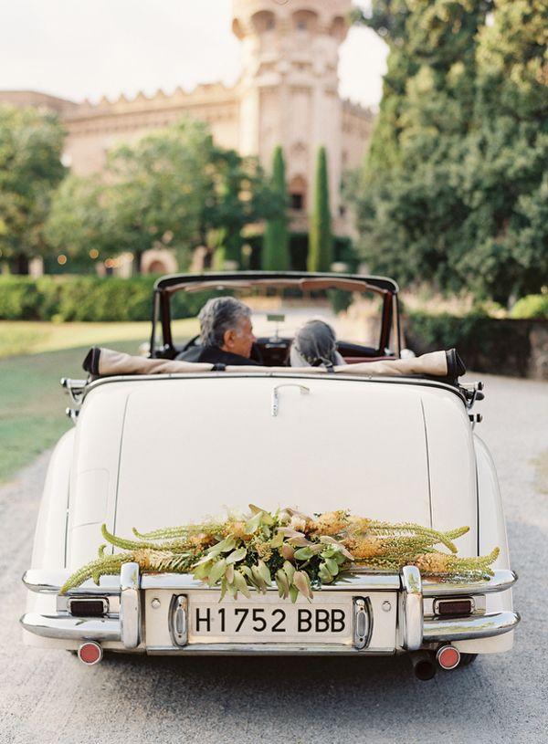 148 best Wedding Cars images on Pinterest | Wedding getaway car ...