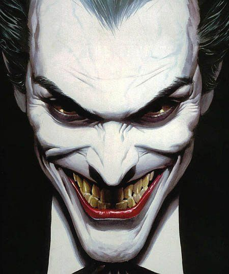 I will always appreciate the bleach-skinned-green-hair-perma-smile Joker over the carved-smile-face-paint Joker.  I'm not saying anything against H.L.'s performance or tDK in general, I just prefer this joker.