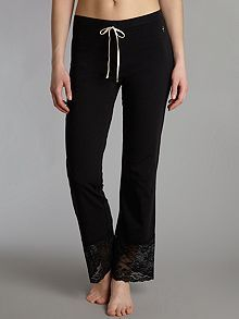Cotton loungewear pants