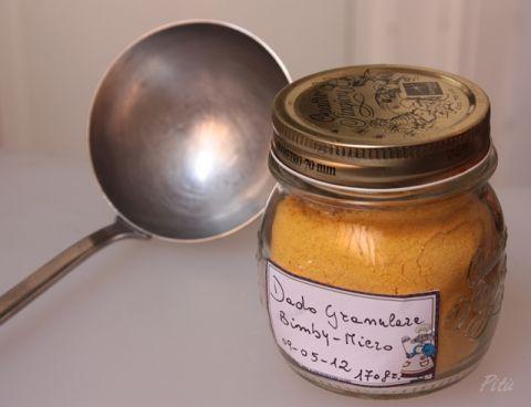 dado vegetale granulare ( bimby e microonde )