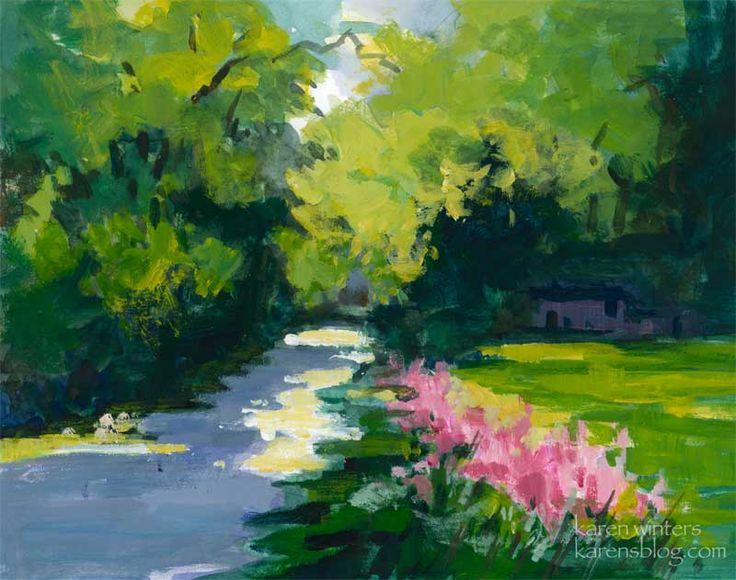 impressionism art landscape - photo #4
