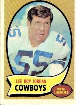 71 - Lee Roy Jordan - Dallas Cowboys