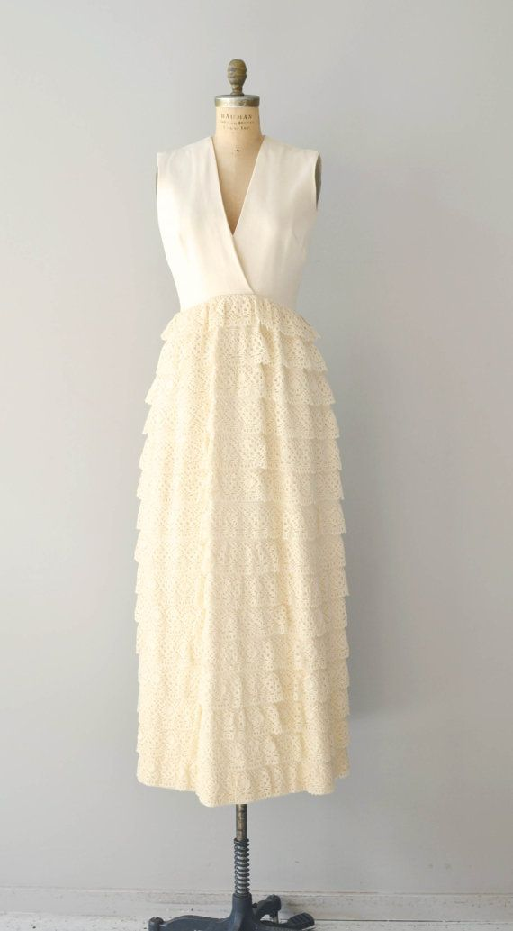 60s wedding dress