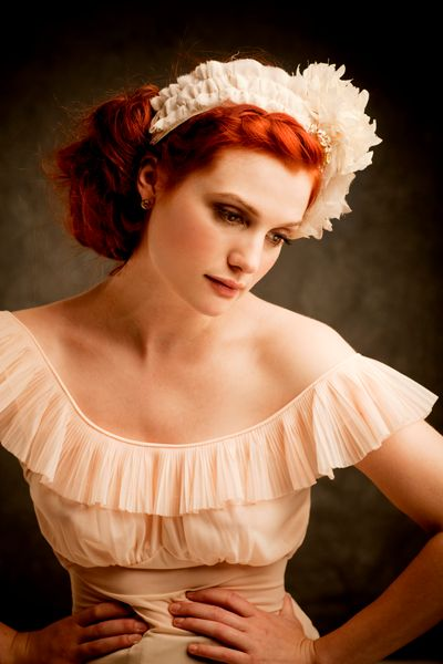I'm thinking of channeling a Fine Frenzy and going a little redder... what do you think?