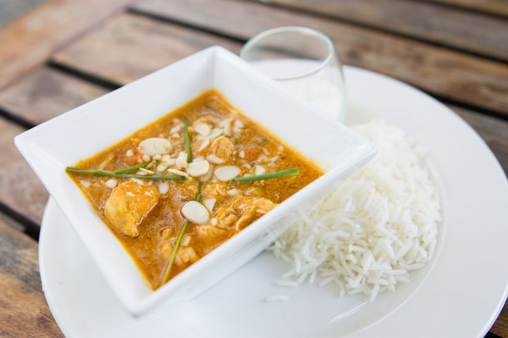 Chicken curry with rice. #SefapaneMagic