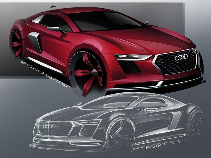 2015 Audi R8 artist rendering 24.9.2013 [24th Sep, 2013]