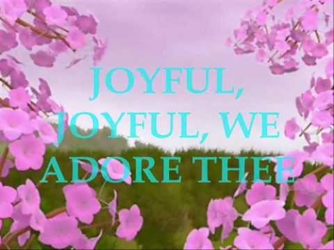 ▶ JOYFUL, WE ADORE THEE... - YouTube