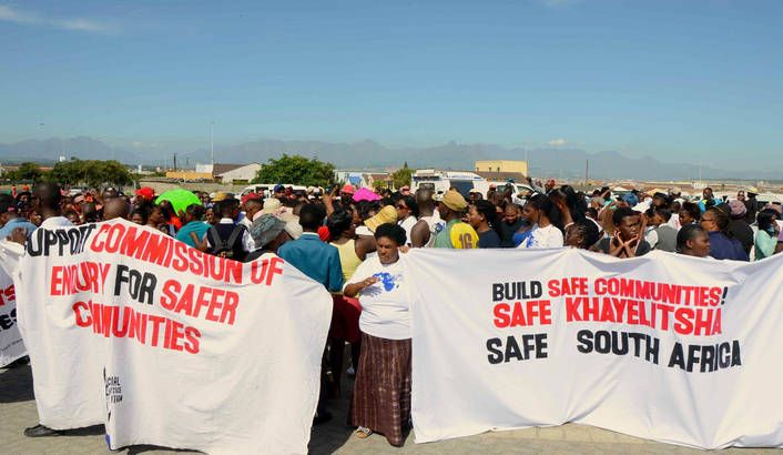 Ostensibly driven by claims of high levels of police inefficiency and a general breakdown in relations between community members and SAPS, the O'Regan Commission of Inquiry finally took off in crime-ridden Khayelitsha last week.