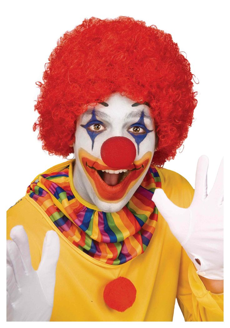 Add a clown makeup kit and red clown wig to your look for a traditional clown costume! Description from costume.net. I searched for this on bing.com/images