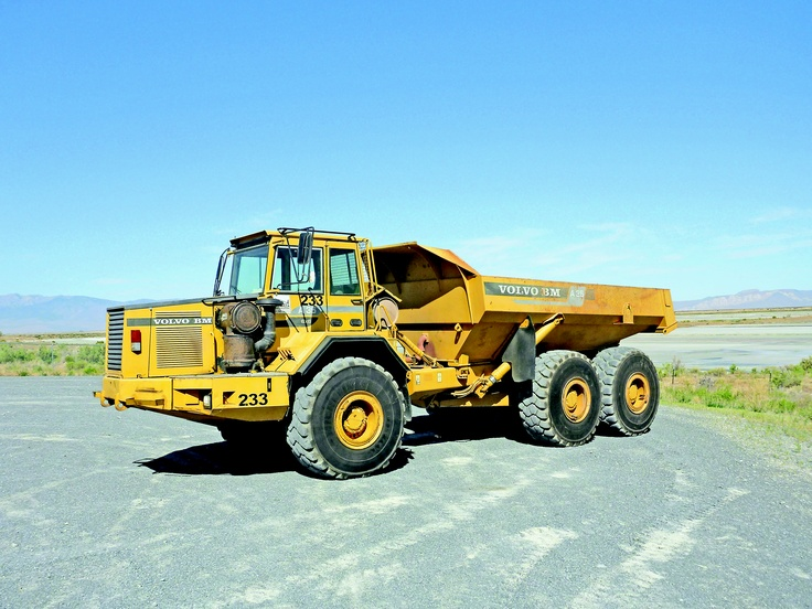 Volvo A35 articulated dump truck | Yellow Iron | Pinterest | Dump trucks, Volvo and Heavy equipment