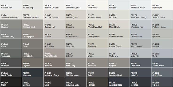 Dulux Colour Atlas Colours Dulux Exterior Paint