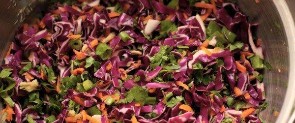 Copie a Salada de Repolho com Molho Picante - Receitas Supreme