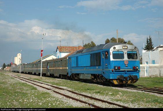 RailPictures.Net Photo: 040-DO-334 Societé Nationale de Chemins de Fer Tunisiens (SNCFT) 040-DO at Le Fahs , Tunisia by Yves Locomot: