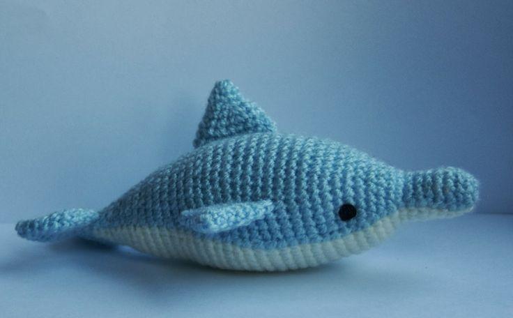 Tutorial Delfin Amigurumi : 17 mejores imagenes sobre amigurumi en Pinterest ...