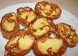 Yumurtalı ekmek (French toast)