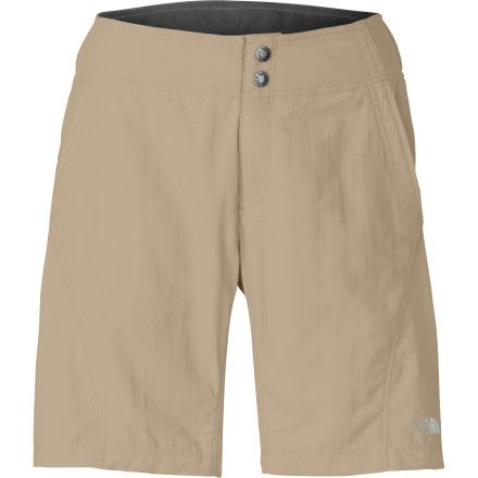 Mountain biking shorts Size Small color Dune Beige