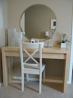 malm dressing table - Bing Images: Apartment, Ikea Hacks Dresses Tables