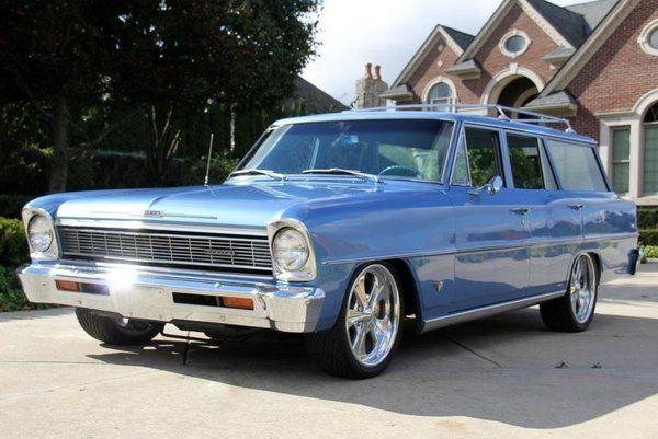 1966 Chevrolet Nova Wagon For Sale In Plymouth Mi