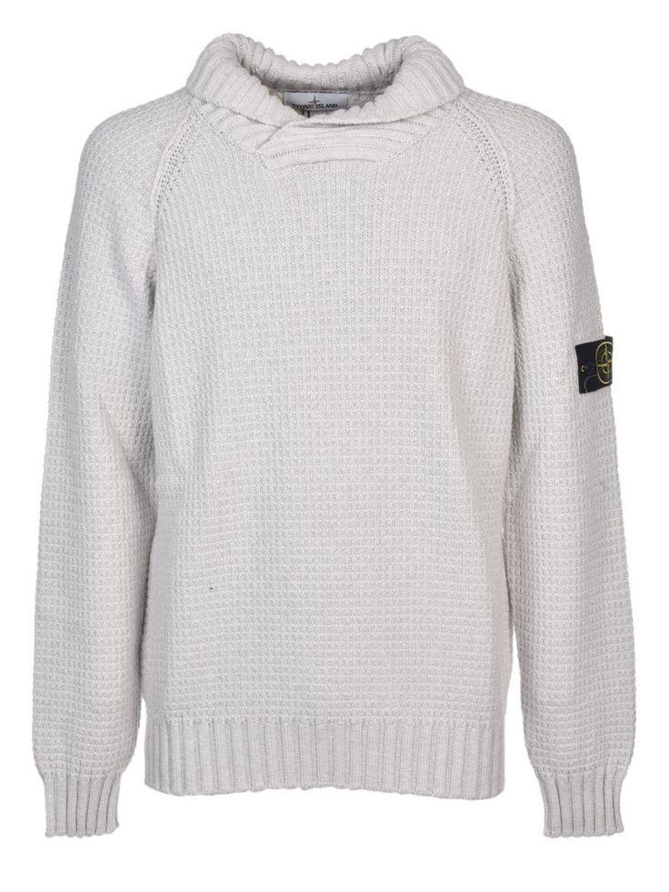 STONE ISLAND Stone Island High Collar Sweatshirt. #stoneisland #cloth #