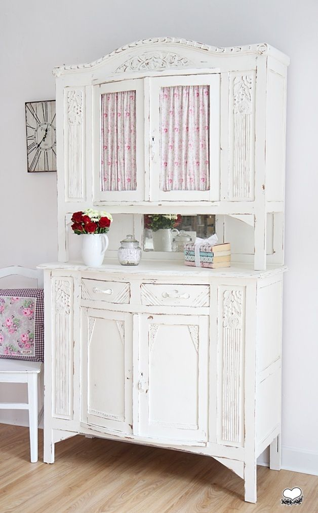 ber ideen zu shabby chic schrank auf pinterest tv st nder vitrinen und shabby chic. Black Bedroom Furniture Sets. Home Design Ideas
