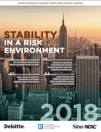 Situs RERC, Deloitte and National Association of REALTORS® Announce Release of 2018 Annual Forecast Report