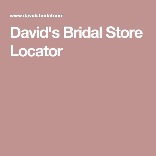 David's Bridal Store Locator