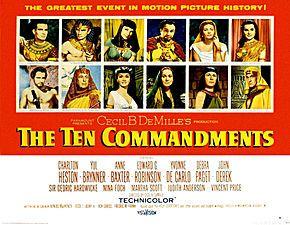Les Dix Commandements (film, 1956) — Wikipédia