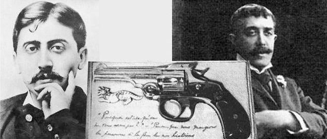 Marcel Proust (à gauche), a provoqué en duel Jean Lorrain.