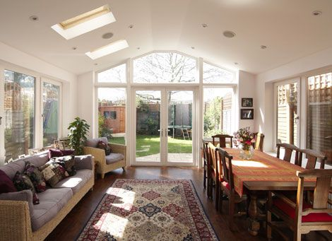 Victorian kitchen extensions google search ideas for for Dining room extension ideas