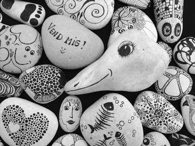 Det Kreative Værksted på Gammelbro Camping: Doodle: At tegne krusseduller