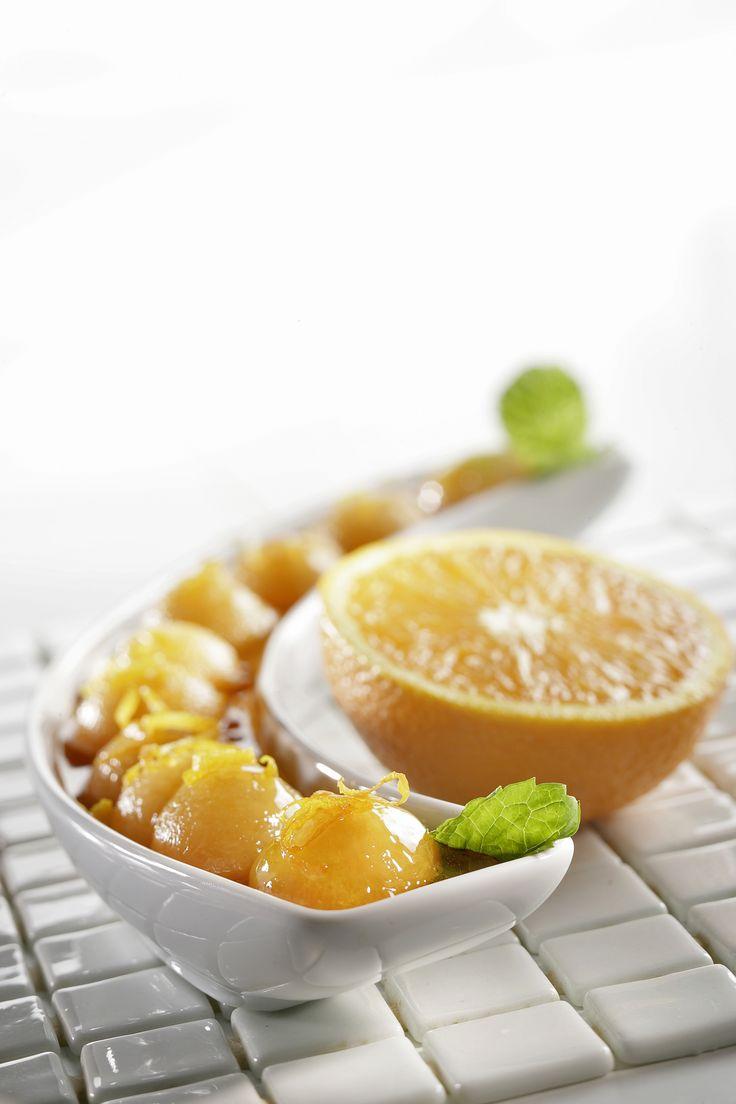 Melon au vin liquoreux - Cooklook : photo recette cuisine et Photographies recettes Cuisine Gourmande