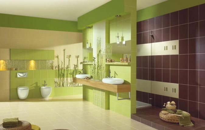 Zold, bambusz minta | Inca / Bambus / Bambo