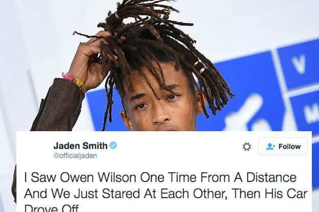 Just A Reminder That Jaden Smith's Logic Is Out Of This World