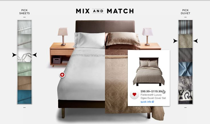 """Huge partnered with Target to reimagine the wedding registry for today's couples. """"Be Yourself, Together"""" featured an interactive catalog - the first of it's time for Target."""