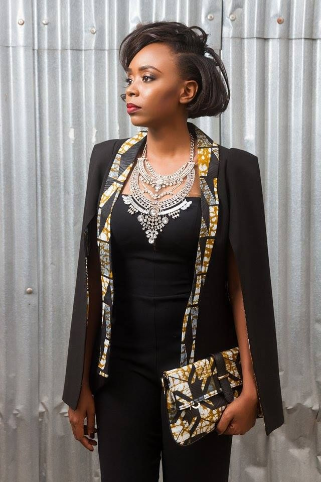 outstanding cape blazer by nana wax tenue africaines. Black Bedroom Furniture Sets. Home Design Ideas
