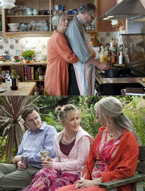Jim Broadbent, Lesley Manville and Ruth Sheen - Another Year (2010) directed by Mike Leigh