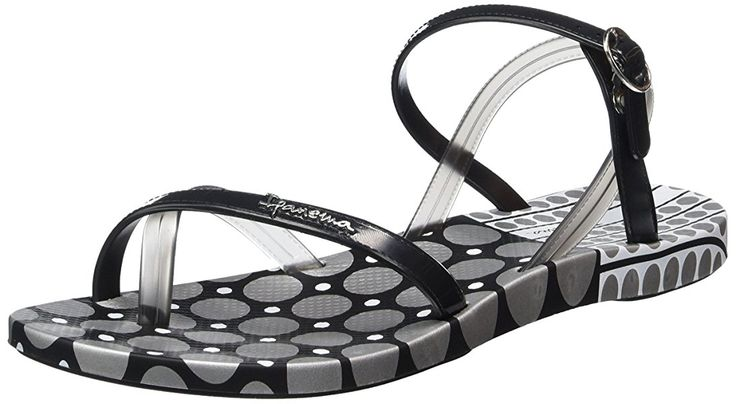 Ipanema Fashion Sand. III Fem, Damen Zehentrenner, Mehrfarbig (black silver 8060), 37 EU: Amazon.de: Schuhe & Handtaschen