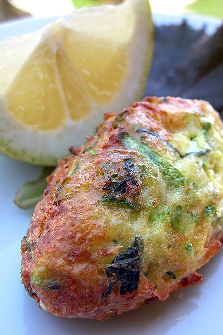 crocchette di zucchine vegetariane