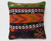 kilim pillow 20x20 oversized cushion large kelim rug oversized throw pillow euro pillow case big decorative pillow 20x20 throw pillow 25893