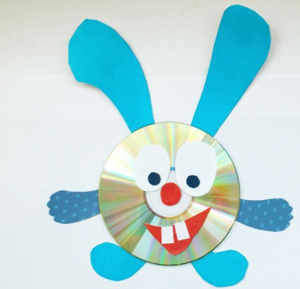 CDs and DVDs crafts for kids