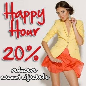 Ora aceasta vă oferim o reducere de 20% la sacouri şi jachete în toate magazinele miniPrix! Vă aşteptăm!