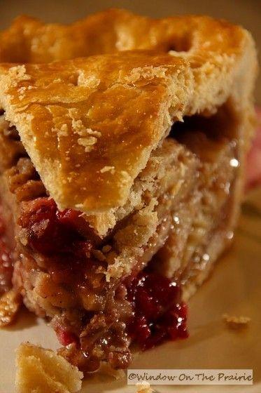 Apple Cranberry Pie | cooking! | Pinterest